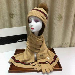GG scarves beanies gloves set (never wear)